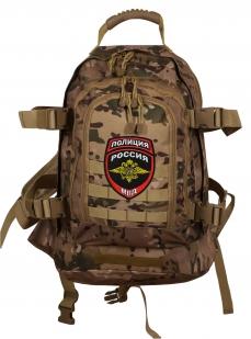 Рейдовый эргономичный рюкзак с нашивкой Полиция России - купить оптом