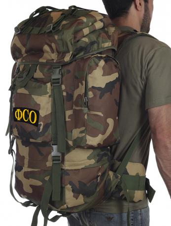 Рейдовый камуфляжный рюкзак CCE с нашивкой ФСО - заказать оптом