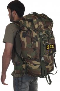 Рейдовый камуфляжный рюкзак CCE с нашивкой ФСО - заказать в подарок