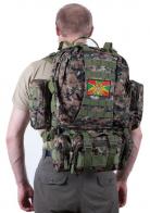 Рейдовый камуфляжный рюкзак с эмблемой Погранвойск