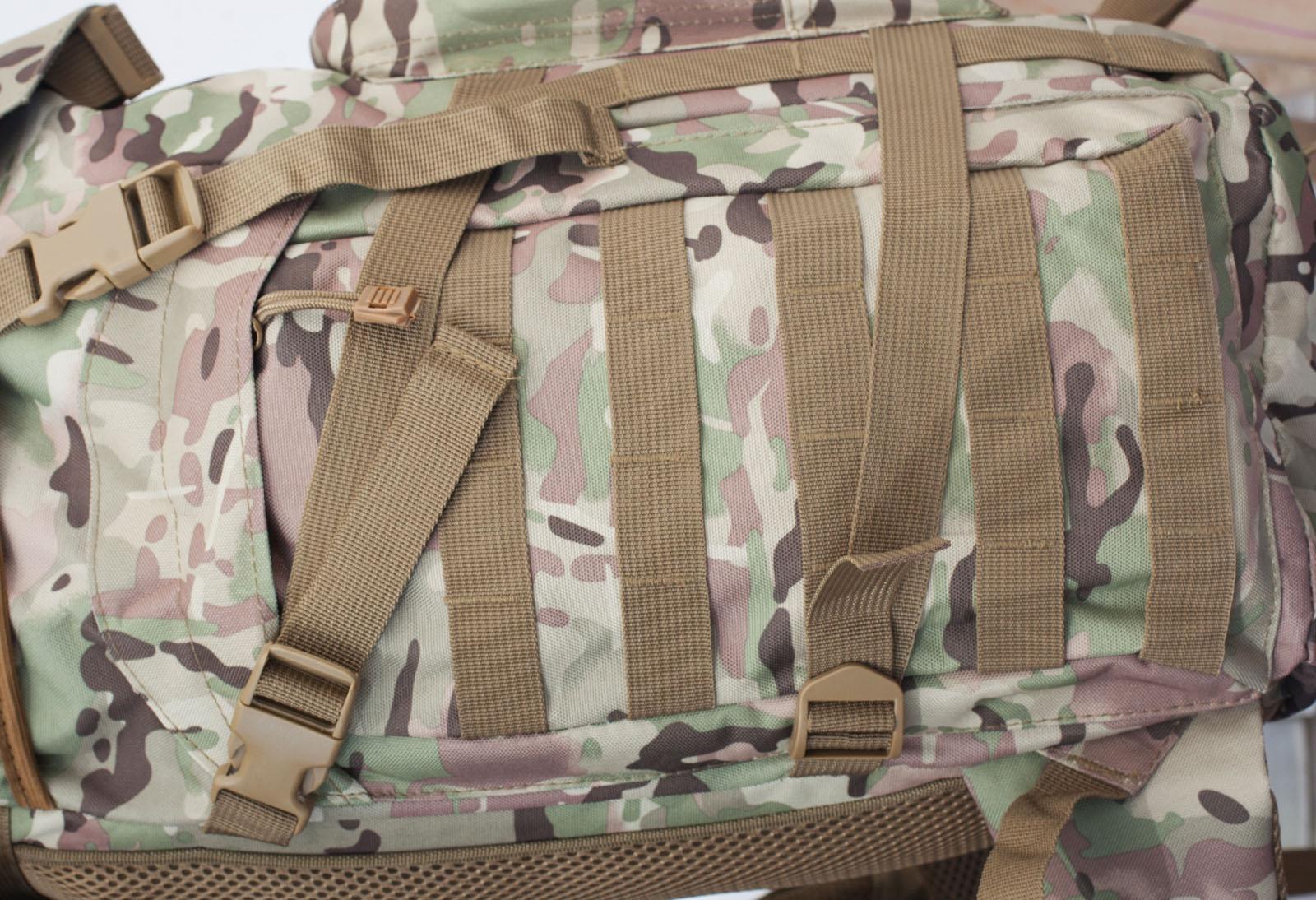 Рейдовый камуфляжный рюкзак с нашивкой Афган - заказать оптом