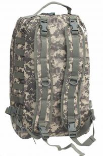 Рейдовый камуфляжный рюкзак с нашивкой МВД - заказать в розницу