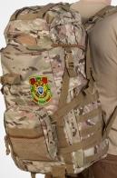 Рейдовый камуфляжный рюкзак с нашивкой Пограничной службы - купить онлайн