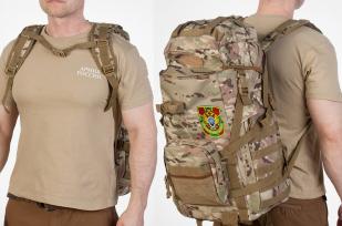 Рейдовый камуфляжный рюкзак с нашивкой Пограничной службы - купить в розницу