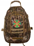 Рейдовый камуфляжный рюкзак с нашивкой Погранвойска - купить в Военпро