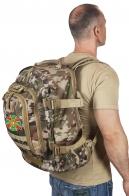 Рейдовый камуфляжный рюкзак с нашивкой Погранвойска
