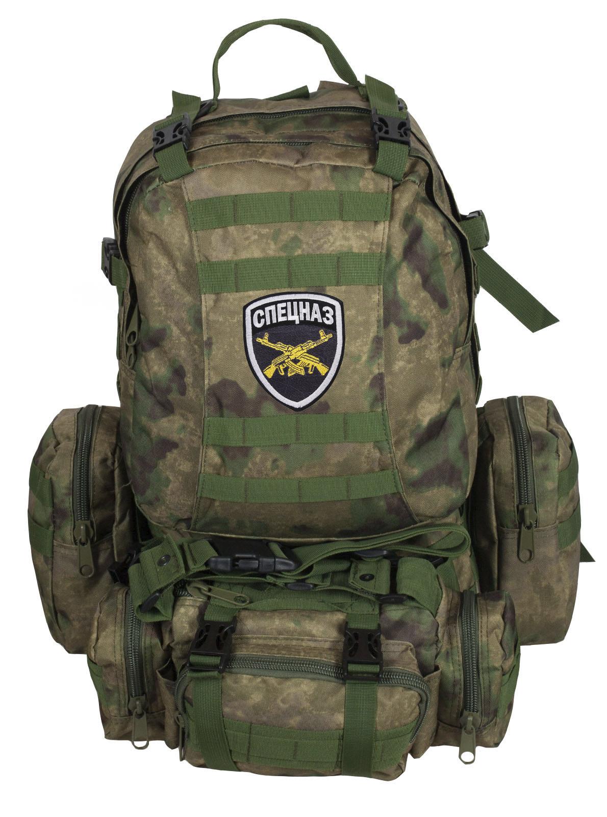 Рейдовый камуфляжный рюкзак-трансформер СПЕЦНАЗ - заказать оптом