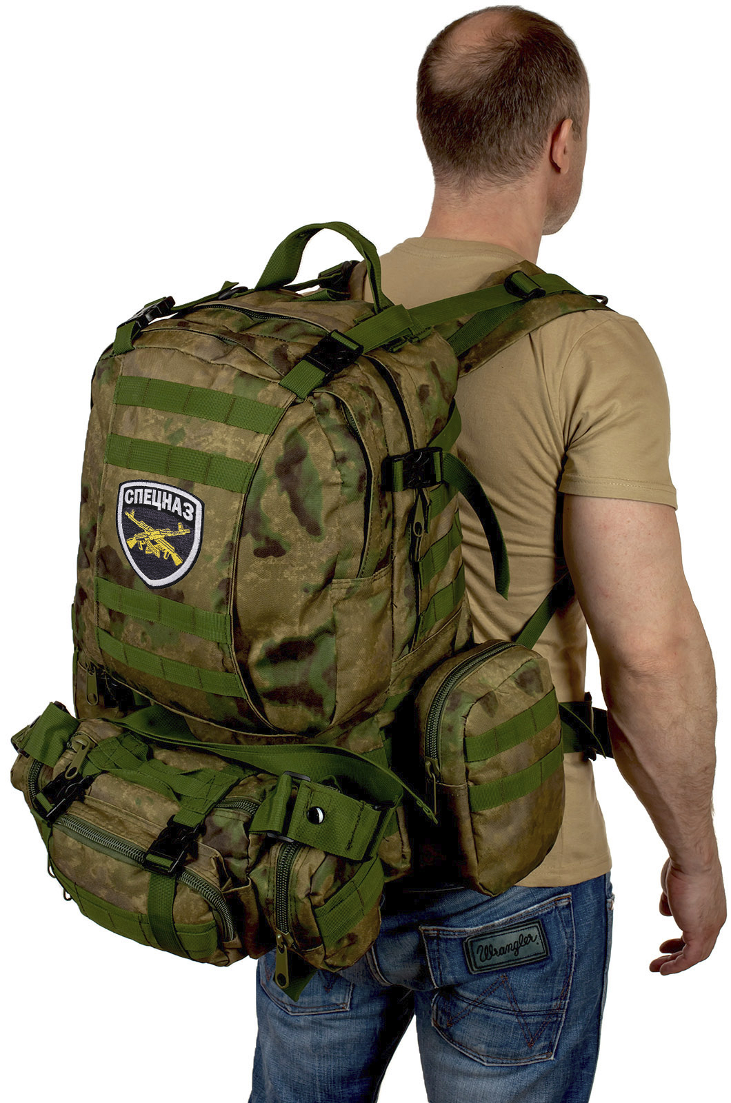 Рейдовый камуфляжный рюкзак-трансформер СПЕЦНАЗ - заказать выгодно