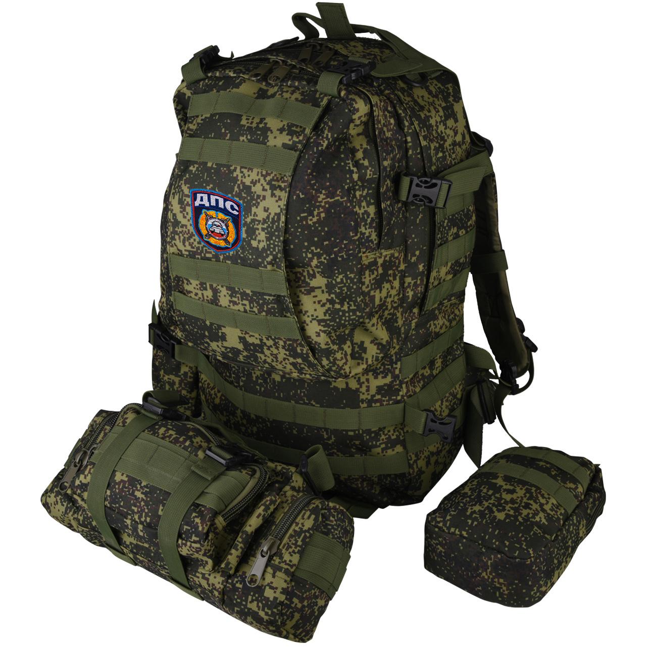 Рейдовый надежный рюкзак с нашивкой ДПС - купить оптом