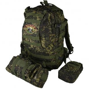 Рейдовый походный рюкзак с нашивкой Ни пуха, Ни пера! - заказать в розницу