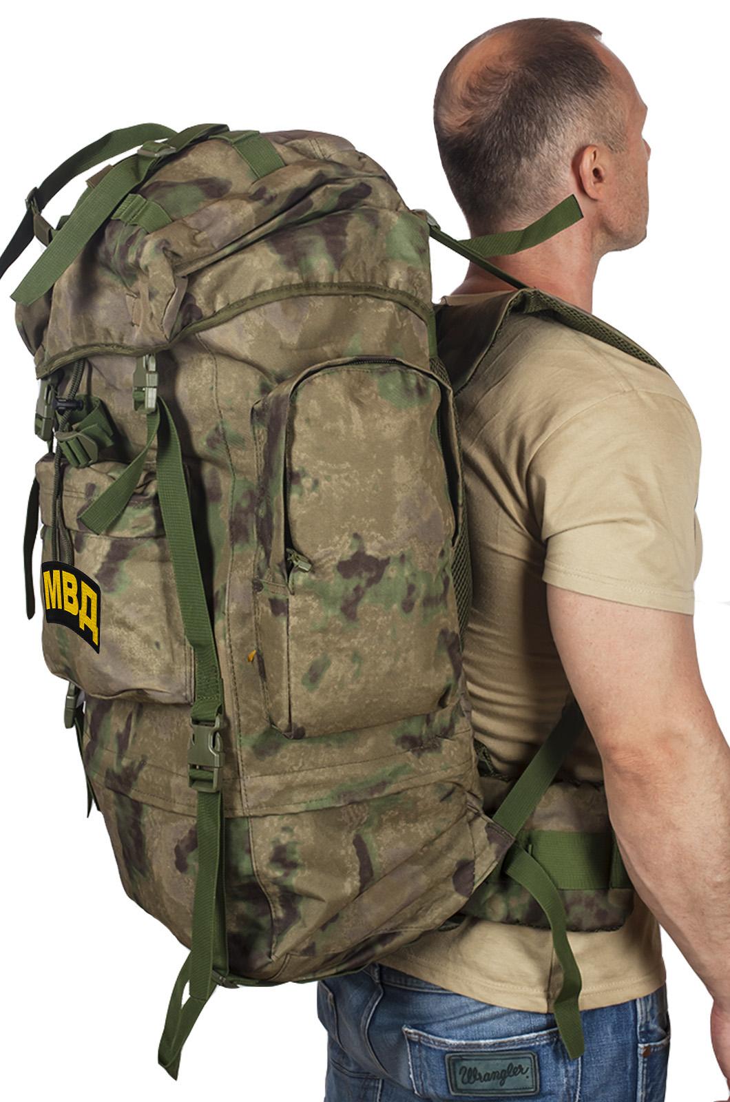 Рейдовый ранец-рюкзак с нашивкой МВД - купить в розницу