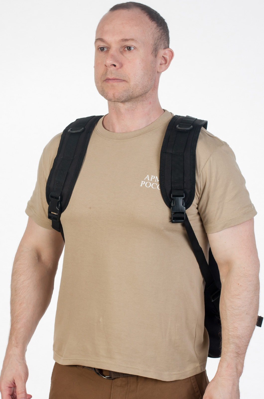 Рейдовый рюкзак черный с эмблемой СССР оптом в Военпро