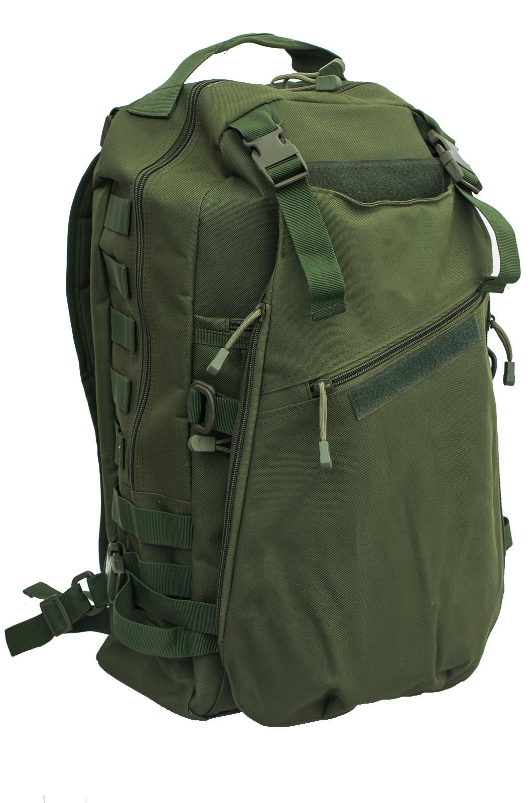 Заказать рейдовый рюкзак хаки-олива с доставкой