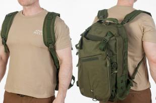 Заказать рейдовый рюкзак хаки-олива