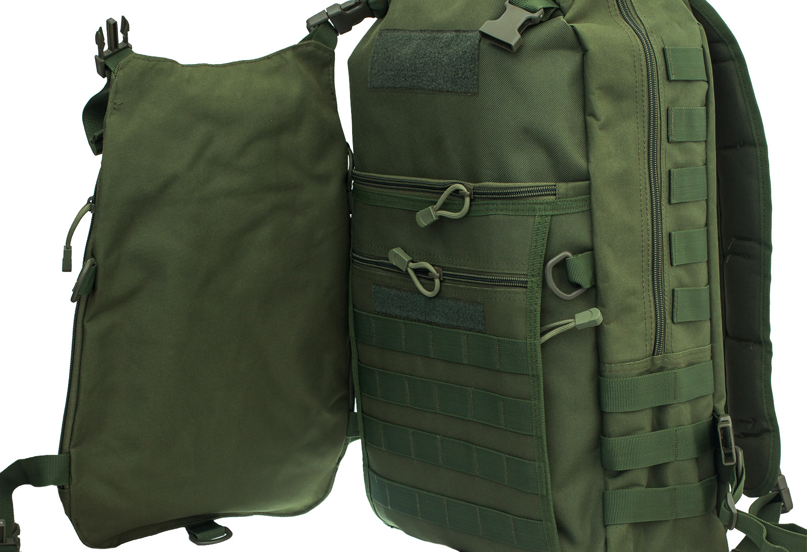 Рейдовый рюкзак хаки-олива с эмблемой СССР