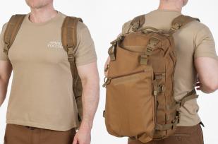 Заказать рейдовый рюкзак хаки-песочный