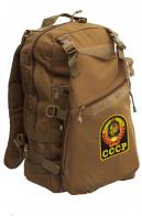 Рейдовый рюкзак хаки-песочный с эмблемой СССР