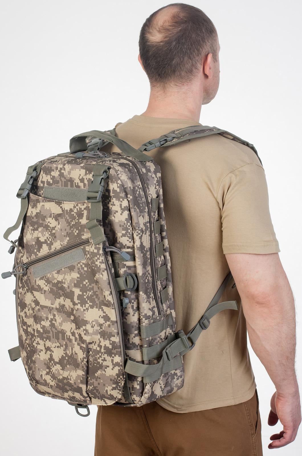 Рейдовый рюкзак камуфляж ACU