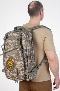 Рейдовый рюкзак камуфляж ACU с эмблемой МВД заказать в Военпро