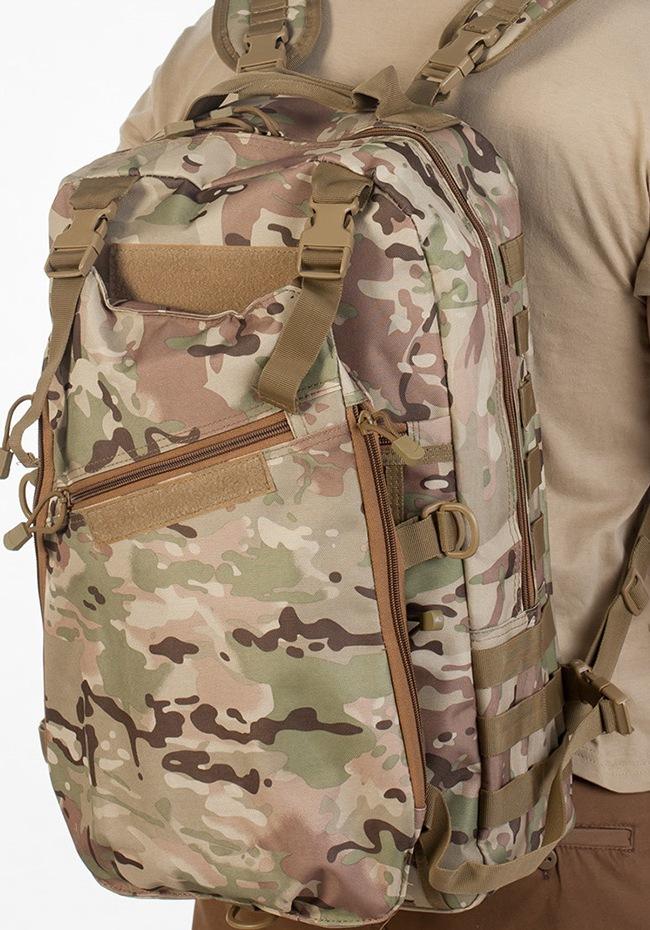 Рейдовый рюкзак камуфляж Multicam