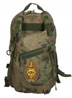 Рейдовый рюкзак камуфляж MultiCam A-TACS FG с эмблемой МВД