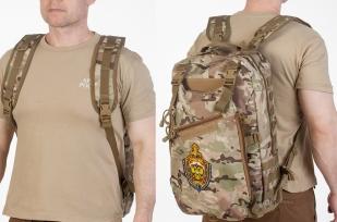Рейдовый рюкзак камуфляж Multicam с эмблемой МВД