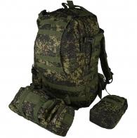 Рейдовый рюкзак на 50 литров с подсумками