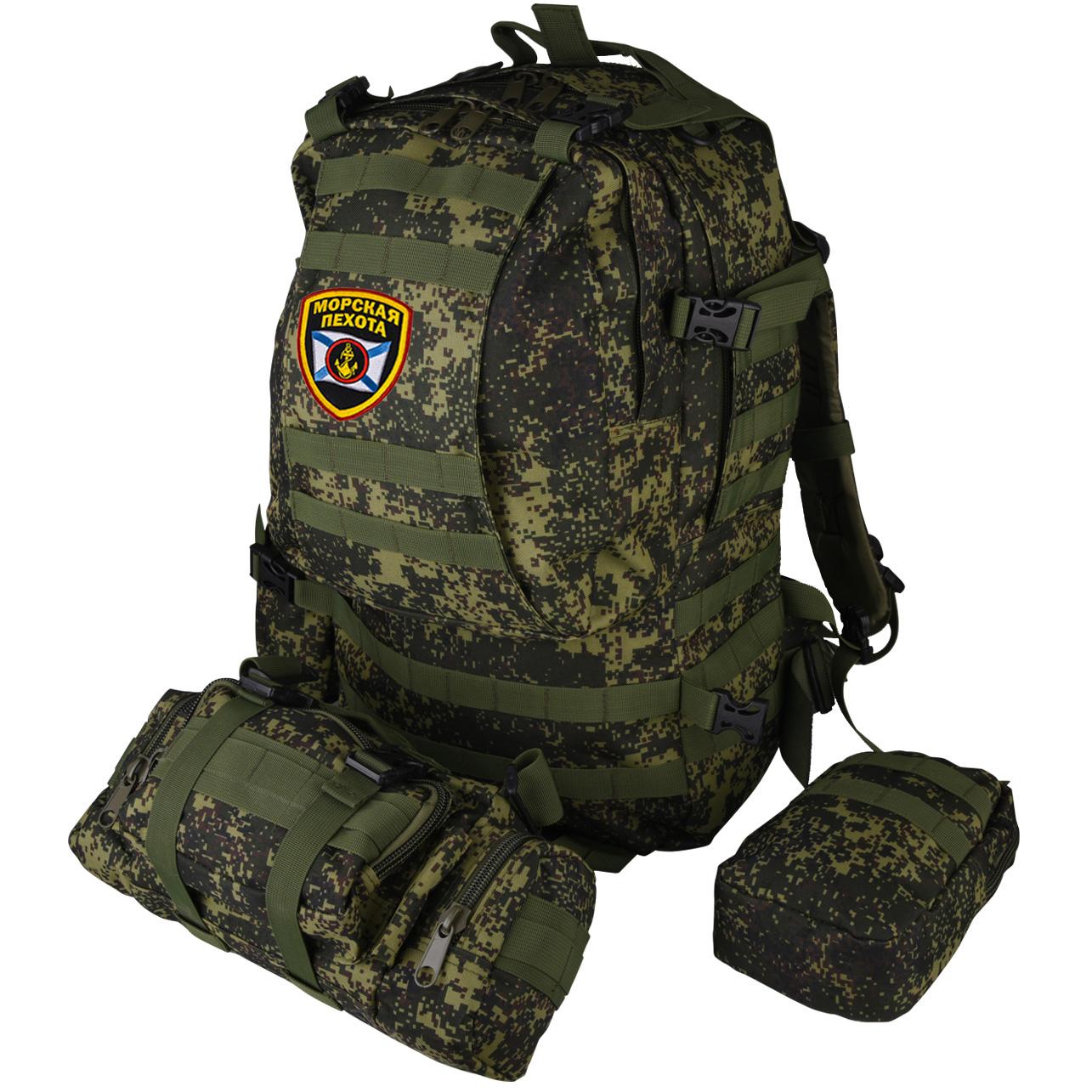 Проверенный Морпехами рейдовый рюкзак с подсумками