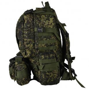 Рейдовый стильный рюкзак с нашивкой Герб России - купить в розницу