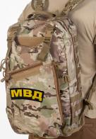 Рейдовый тактический рюкзак с нашивкой МВД - купить с доставкой