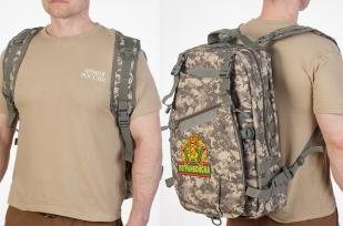 Рейдовый тактический рюкзак с нашивкой Погранвойска - купить с доставкой