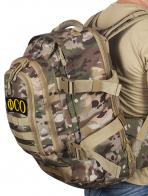 Рейдовый вместительный рюкзак с нашивкой ФСО - купить онлайн