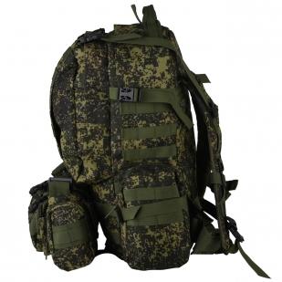 Рейдовый вместительный рюкзак с нашивкой Танковые Войска - купить выгодно