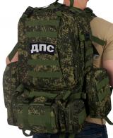 Рейдовый военный рюкзак с нашивкой ДПС - заказать онлайн