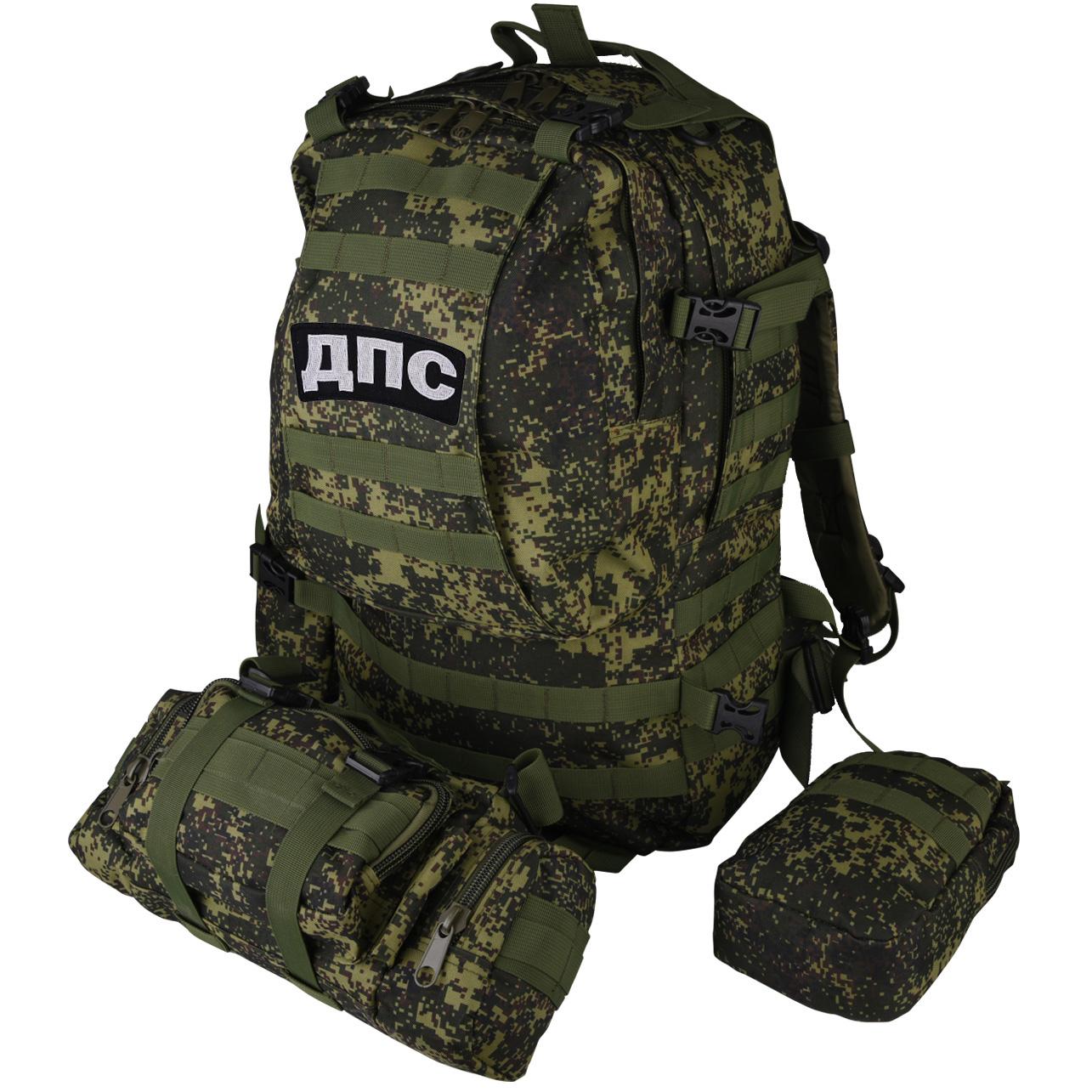 Рейдовый военный рюкзак с нашивкой ДПС - заказать выгодно