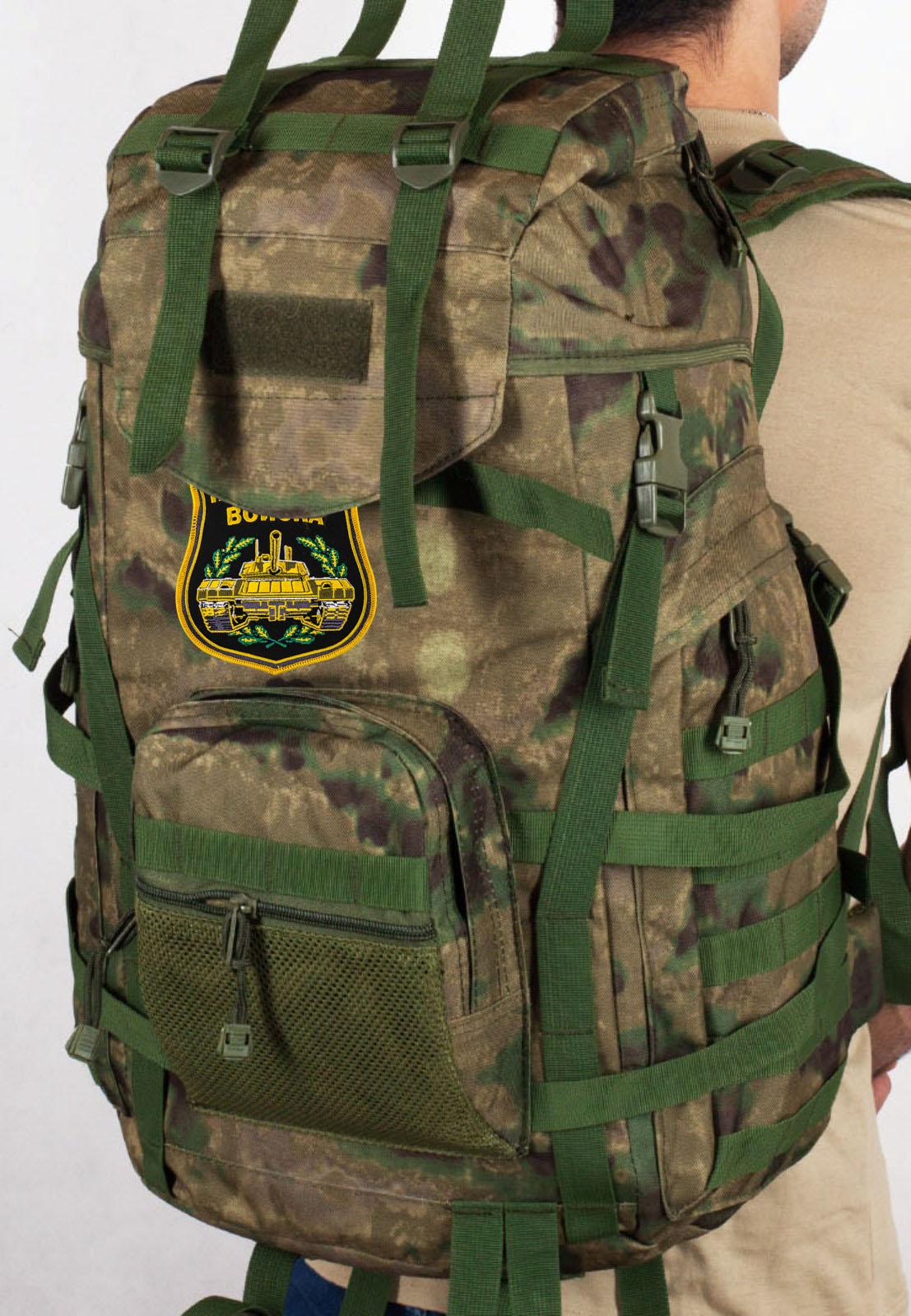 Рейдовый заплечный рюкзак с нашивкой Танковые Войска