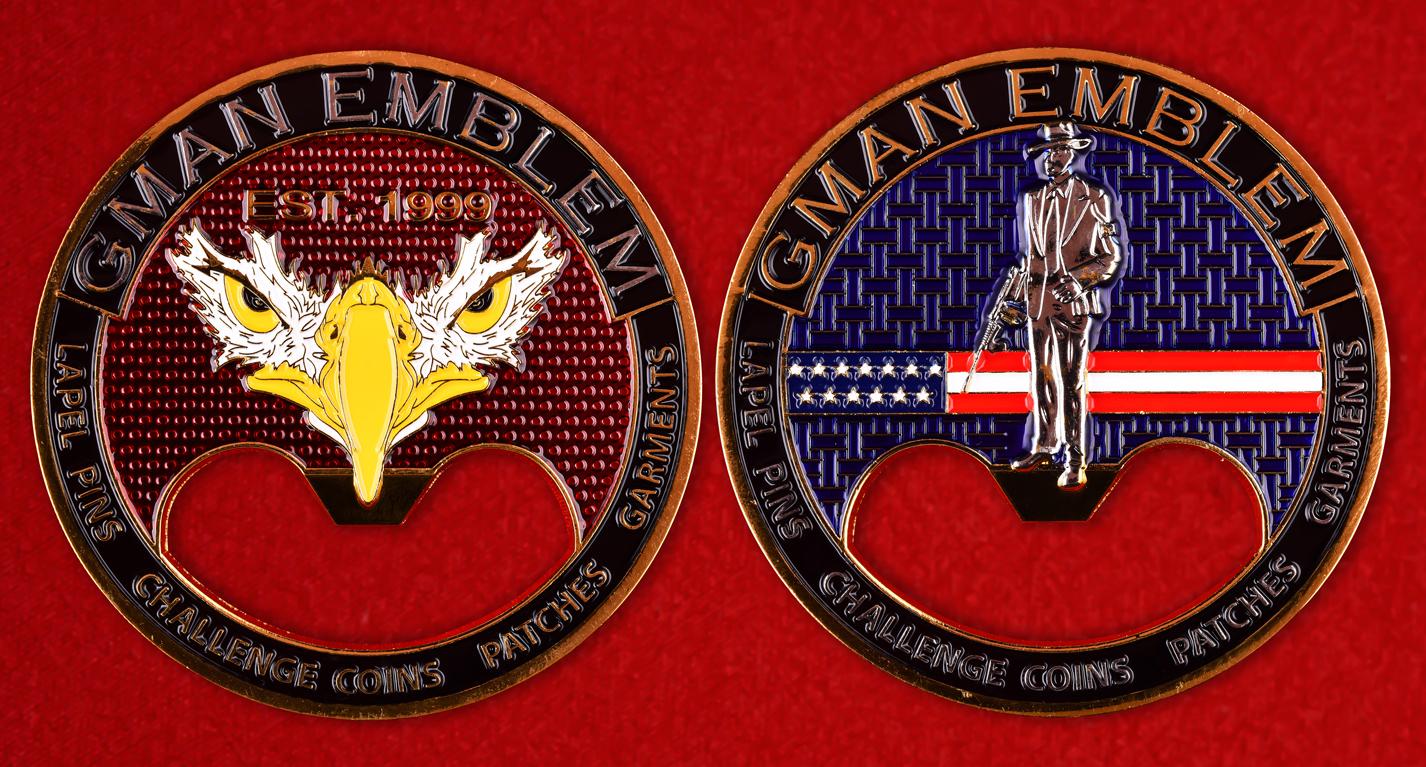 """Рекламный значок компании """"Gman Emblem"""""""