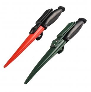 Резиновый тренировочный нож (зеленые ножны)