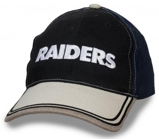 РЕЗКИЙ И ДЕРЗКИЙ МОЖЕТ СЕБЕ ПОЗВОЛИТЬ! Брендовая бейсболка с надписью Raiders подчеркнет вашу уникальность!