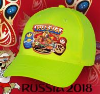 Родственники и друзья обязательно оценят – хлопковую кепку с эксклюзивным принтом «Russia» и символами России - Медведем и Матрешками