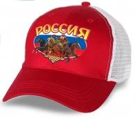 """Роскошный подарок для ценителя - креативная бейсболка """"Россия"""". Отменное качество по супер-цене. Выбирай лучшее!"""