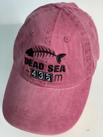 Розовая бейсболка DIED SEA