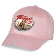Розовая бейсболка для девушек к 75-летнему юбилею Победы