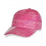 Розовая бейсболка DODGE