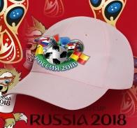 Розовая бейсболка Россия 2018.
