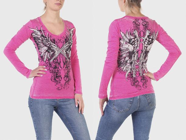 Розовая женская кофточка Rock and Roll Cowgirl