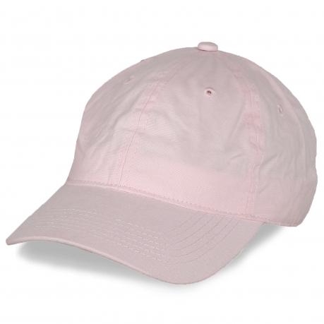 Розовая промо-кепка
