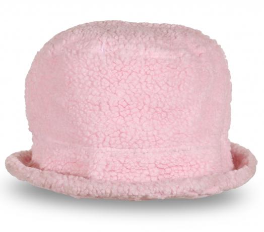 Розовая шляпка для очаровательных девушек