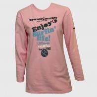 Розовая женская туника Town & Country