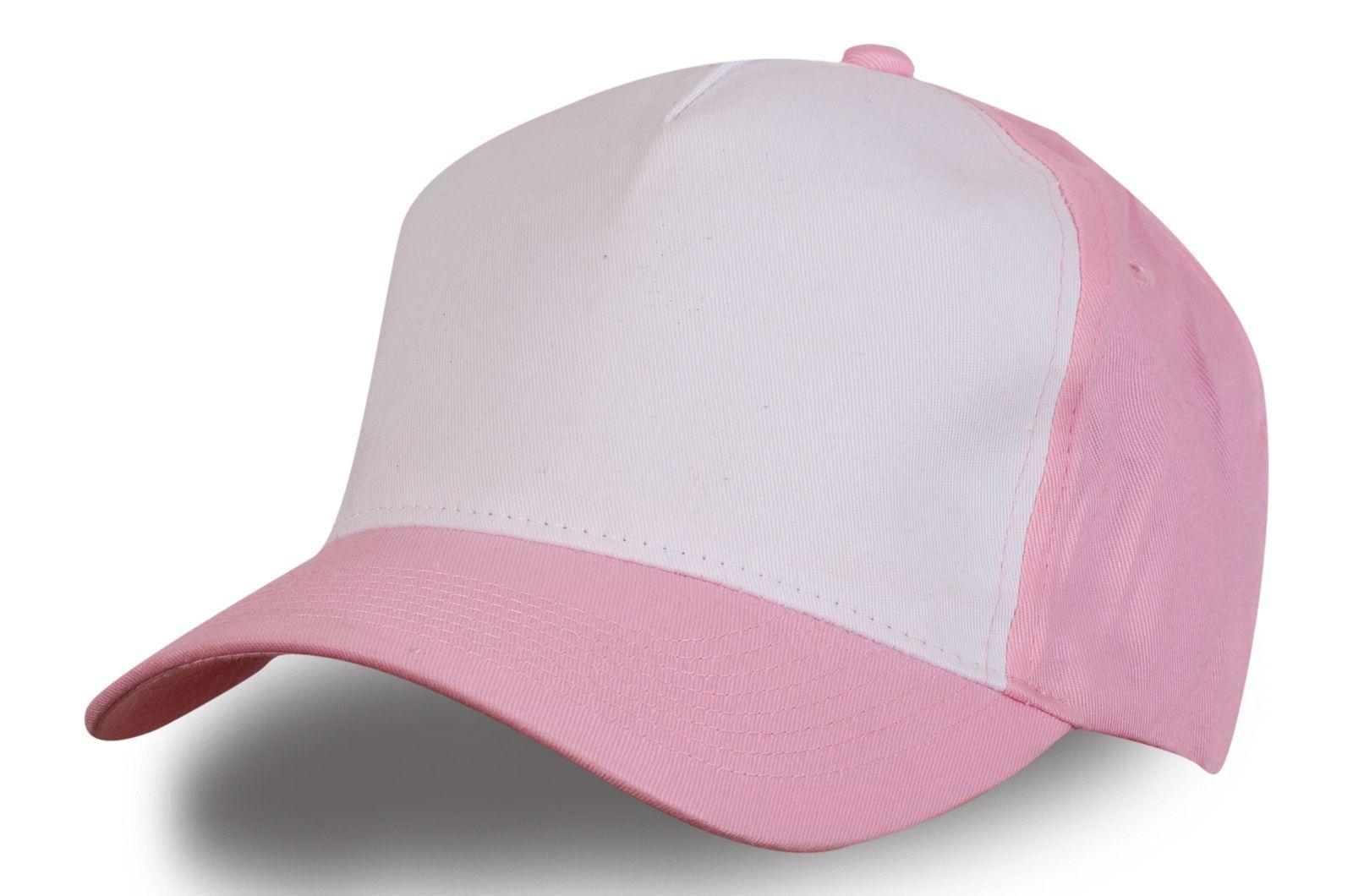 Розовая женская кепка - купить в интернет-магазине с доставкой